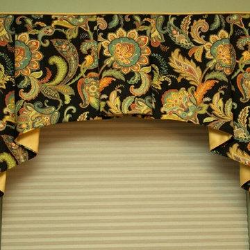 Window Treatments, Jefferson Valance, Traditional