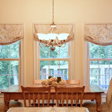 Traditional Dining Room by Newtown Design Group