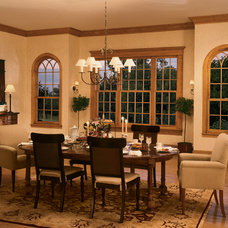 Traditional Dining Room by Lindus Construction/Midwest LeafGuard