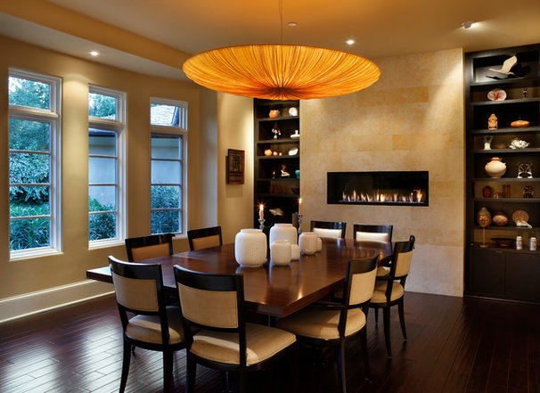 Contemporary Dining Room by Simpson Design Group Architects