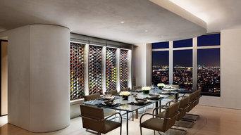 WIne Racks in Manhattan Penthouse
