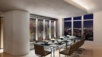 WIne Racks in Manhattan Penthouse
