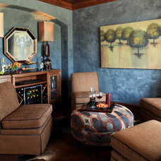 Eclectic Dining Room by Cindy Aplanalp-Yates & Chairma Design Group
