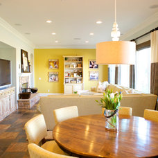 Contemporary Dining Room by Savvy Interiors