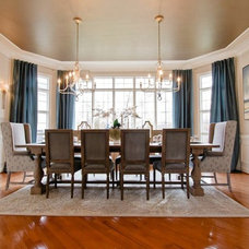 Traditional Dining Room by Interiors by Jennifer Dennis