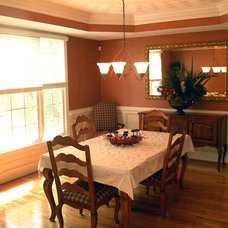 Craftsman Dining Room by Structures Design Build