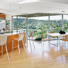 Contemporary Dining Room by Winn Wittman Architecture