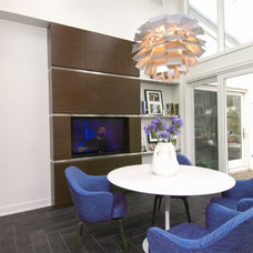 Contemporary Dining Room by DDK Kitchen Design Group