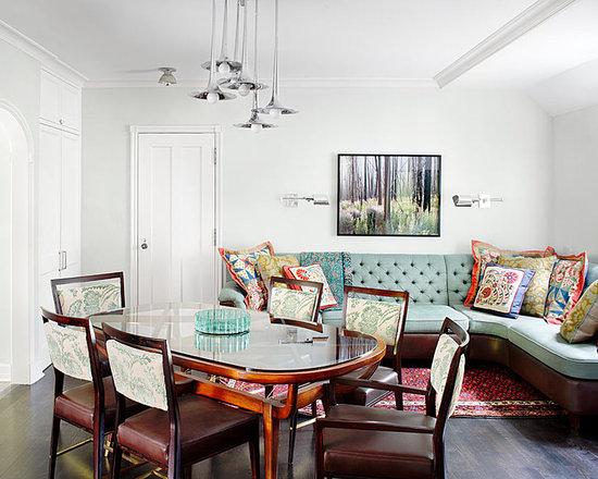 Sofas Seats Dining Room Design Ideas Remodels Photos