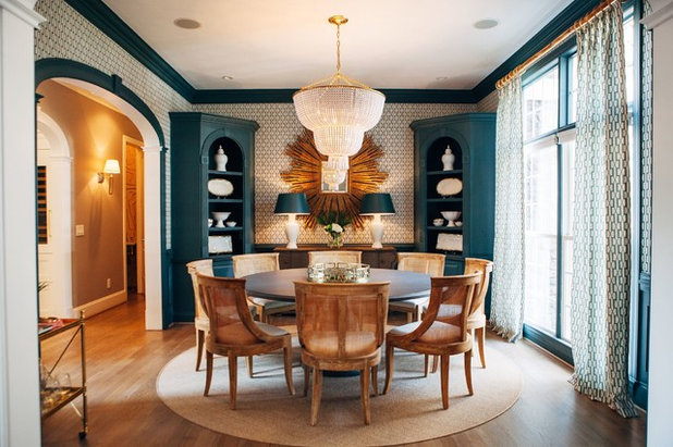 Traditional Dining Room by Georgia Street Design