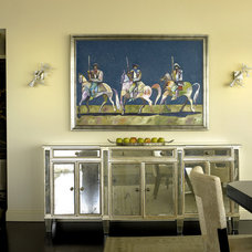 Modern Dining Room by Peggy Braswell