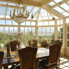 traditional dining room by Wm. F. Holland/Architect