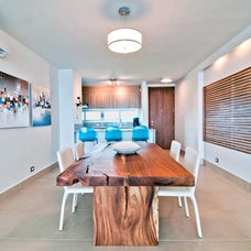 Beach Style Dining Room by TLC_Designs