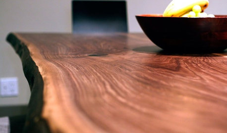 How to Accent Your Home With Live Edge Wood