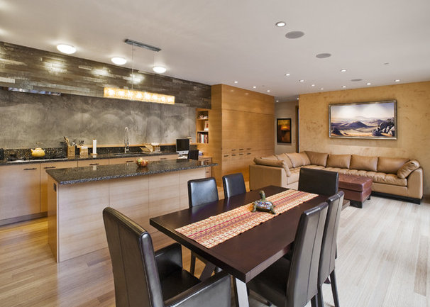Contemporary Dining Room by Francis Gough Architect Inc