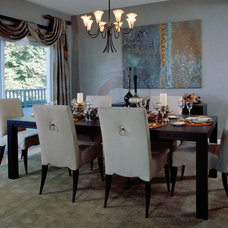 Traditional Dining Room by Woodard & Associates Inc.