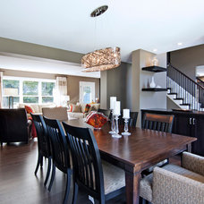 Contemporary Dining Room by Ispiri Design-Build