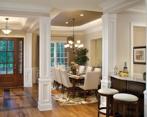 Dining Room Columns Houzz