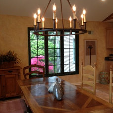 Traditional Dining Room by Dwellings LLC