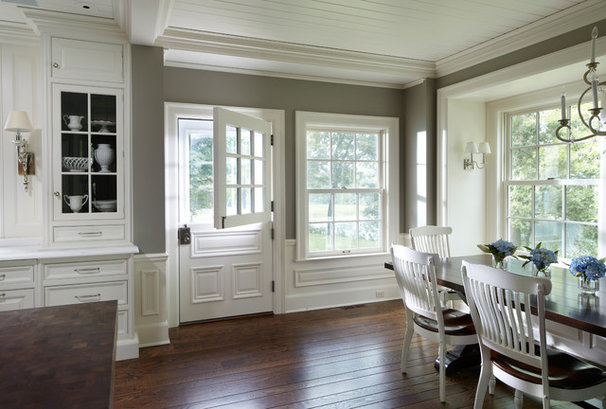 Traditional Dining Room by Yunker Associates Architecture