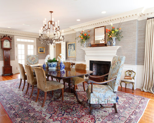 Houzz Wallpaper Dining Room: Woodland Wallpaper Ideas, Pictures, Remodel And Decor