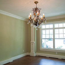 Traditional Dining Room by Elayan Construction Services