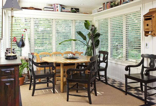 Traditional Dining Room by DESIGNS! - Susan Hoffman Interior Designs