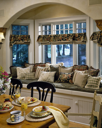 Traditional Dining Room by Witt Construction