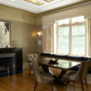 Woodley House dining room
