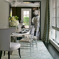 modern dining room by Lori Graham Design