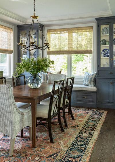 Traditional Dining Room by Jamie Keskin Design