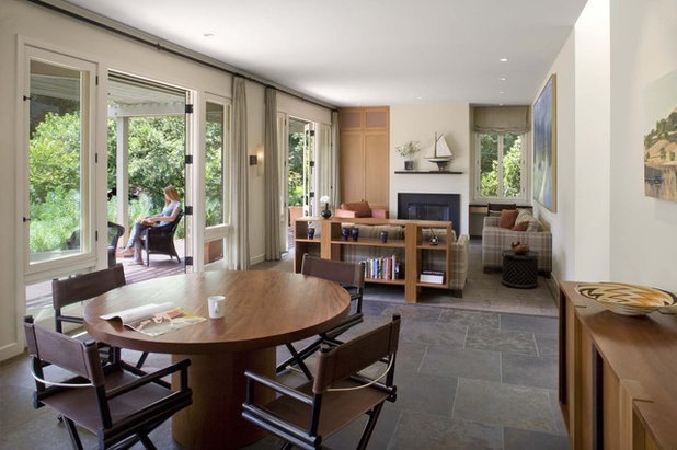 Contemporary Dining Room by Cathy Schwabe Architecture