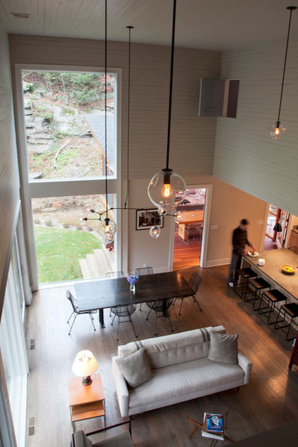 Contemporary Dining Room by Hall Smith Office_Architecture