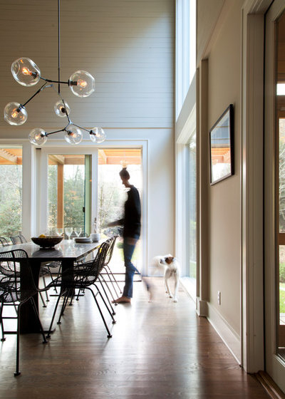 Contemporary Dining Room by Architectural Collaborative