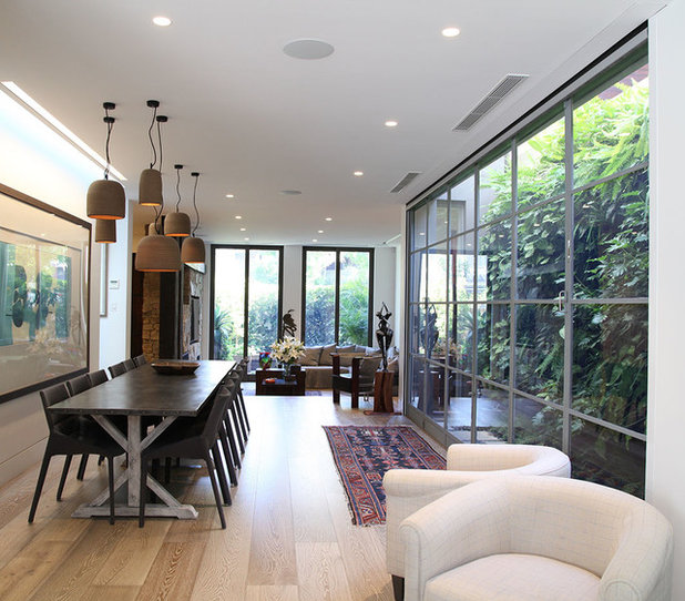 Contemporary Dining Room by LGDesign