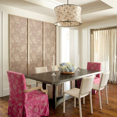 Contemporary Dining Room by Miller Design Co.