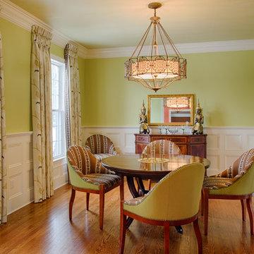 World Travel Inspires Rich &  Layered Home Design