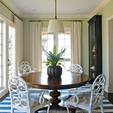 Eclectic Dining Room by Katie Leede