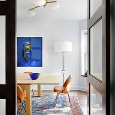 Midcentury Dining Room by Alan Design Studio