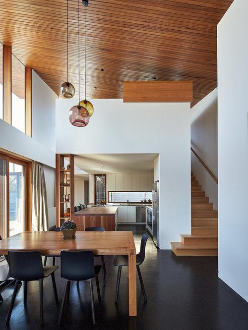 Fotos de comedores | Diseños de comedores de cocina con suelo de corcho