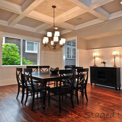 traditional dining room by Kimberlee Marie Interior Design