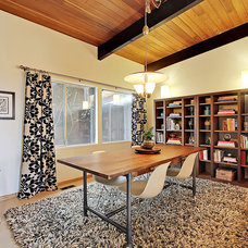 Midcentury Dining Room by Stephanie Fisher Designs