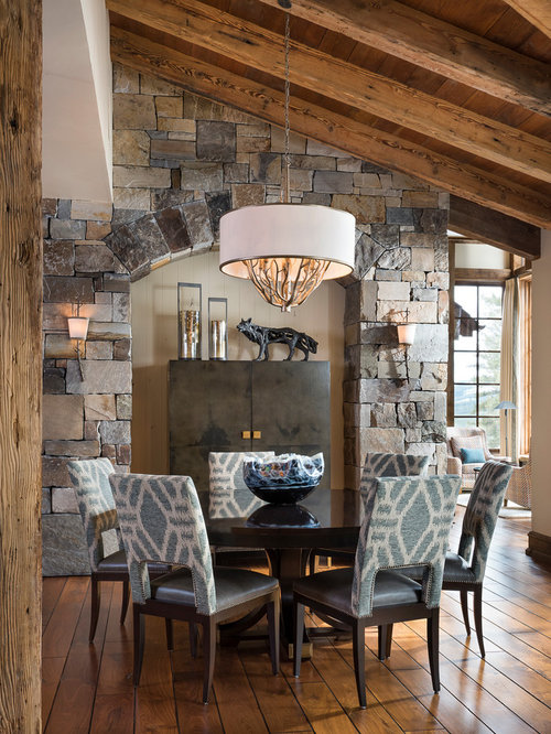 Best Rustic Dining Room Design Ideas & Remodel Pictures | Houzz
