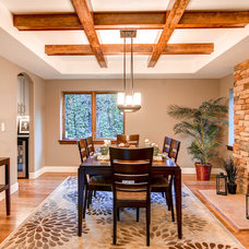 Traditional Dining Room by Redeux Developments