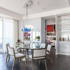 Contemporary Dining Room by Yorkville Design Centre
