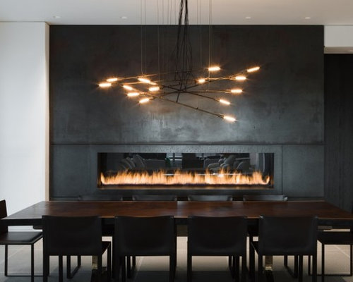 Linear Electric Fireplace Photos - Linear Electric Fireplace Design Ideas & Remodel Pictures Houzz