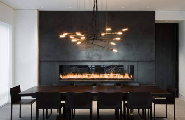 Modern Dining Room by OLighting