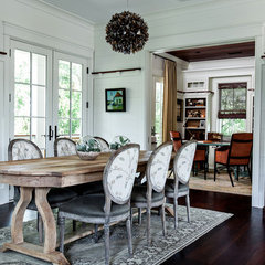 contemporary dining room by cortney Bishop Design