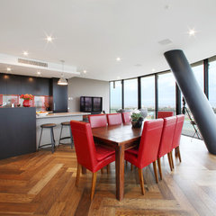 modern dining room by Melbourne Contemporary Kitchens