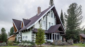 Архитектурная и интерьерная съемка коттеджа